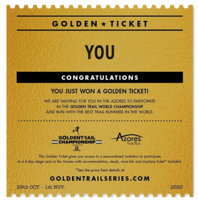 Golden Ticket Golden Trail Series