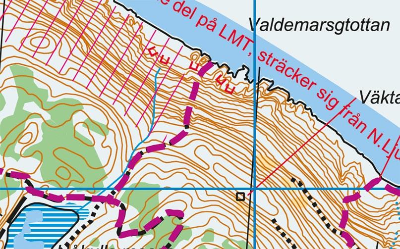 Valdemarsgrottan Golden Segment Kullaberg Sverige Kullamannen