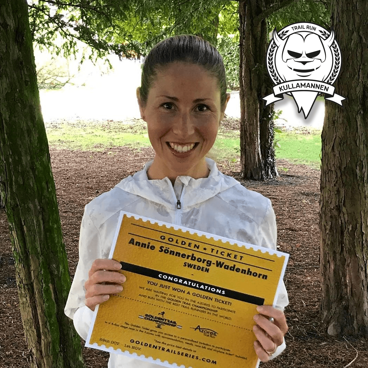 Annie Sönnerborg-Wadenhorn Golden Ticket winner