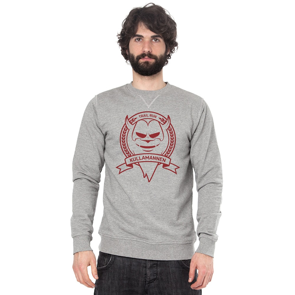 Kullamannen sweatshirt blood red logo